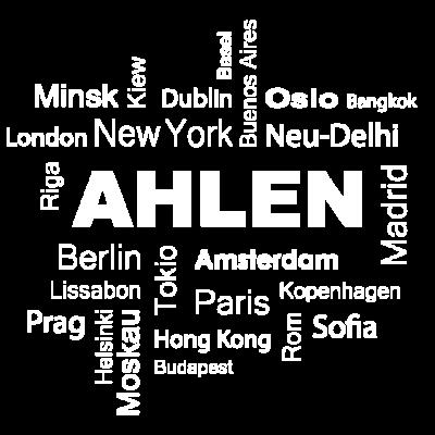 New York - Berlin - Ahlen - Bist auch du stolz auf dein Dorf und würdest es jeder Großstadt vorziehen? Dann ist dieses Shirt genau das Richtige für dich! - York,Dein,Berlin,Ahlen