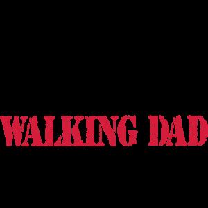 Walking Dad Evolution - Zombie Humor Geschenkidee