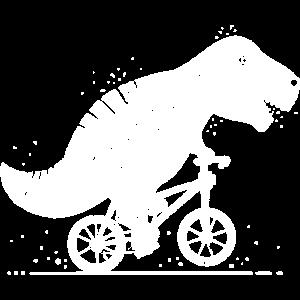 Tyrannosaurus Fahrrad Bike lustig Geschenk Dino
