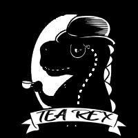 Tea Rex Dinosaur Tyrannosaurus Geschenk lustig