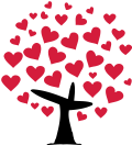 Motif Arbre coeur