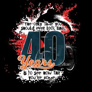 Mountainbiker - 40. Geburtstag