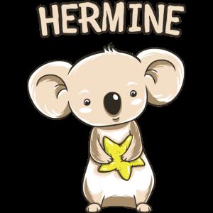 Koala lustig Kind Hermine Geschenk Geburtstag Kopi