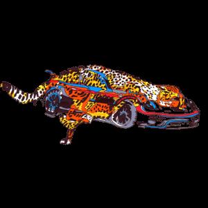 Leopard Sportwagen Perspektive