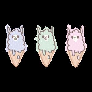 Alpaka Eiscreme