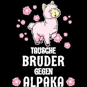 Tausche Bruder gegen Alpaka