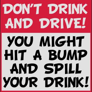 Trinken Sie nicht und fahren