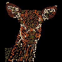 Reh gepunktet/deer dotted