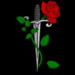 Roos en dolk