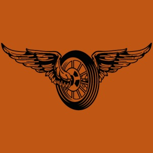 Motorrad / Moped Rad / Angel Wheel 01_schwarz