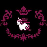 Kleines dickes Einhorn - Royal Edition Girlie Sexy