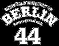 Neukölln Berlin 44 white print