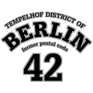 Berlin 42 black print-1000,42,Bezirk,Capitol,Hauptstadt,Kiez,Kult,Metropole,Tempelhof,Zentrum,berlin,city,dufte,flughafen,ortsteil-