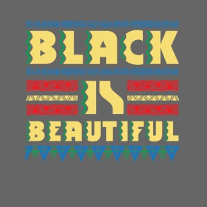 Black is Beautiful - natural african gift design