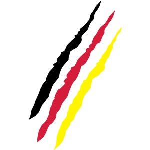 Kratzer Flagge Deutschland - Fußball, Handball