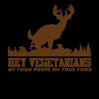 Hallo Vegetarier mein Futter fällt auf euer Futter