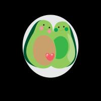 Avocado Schwangerschaft Ankündigung