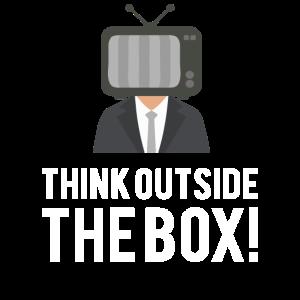 Denken Sie außerhalb der Box Kreativität Geschenk