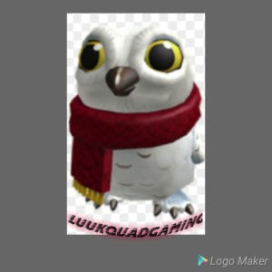 Merch white snow owl