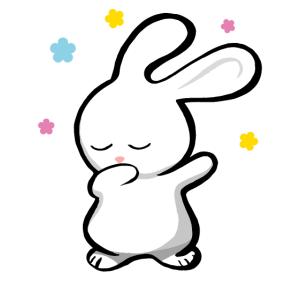 Dabbing Bunny - tanzender Hase