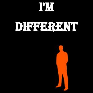 Ich bin anders/Geschenk für besondere Freunde