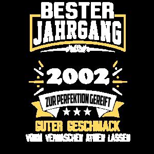 2002 Bester Jahrgang
