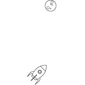 To the Moon and back / Geschenk Idee
