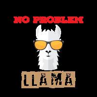 No Prob Llama No Drama Mama Shirt Alpaca Llamacorn