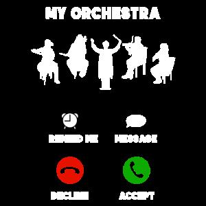 Orchester Handy Musiker lustig Geschenk