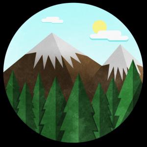 Bergkulisse
