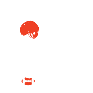 American Football Dabbing Dab Skelett