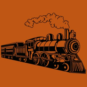 Lokomotive / Locomotive 02_schwarz
