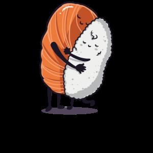 Sushi Reis Geschenk Geburtstag lustig Liebe
