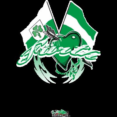 Fürth - Flagge zeigen - Fürth Fanshirt - Städteshirt / Block_K Design - weiss,ultras,t-shirt,städteshirt,streetwear,stadt,sport,shirt,grün,greuther,fürth,fussball,fanshop,fanshirt,fans,fanblock,Ultras,T-Shirt,Städteshirt,Sport,Shirt,Greuther,Fürth,Fanshop,Fanshirt,Fanblock