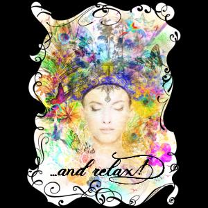 Natur Spirituell Farbenfroh Shirt für Frauen