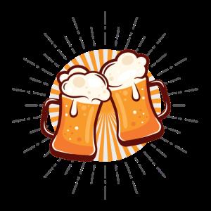 Coole Bier Shirts - Beer is my life - Biertrinker