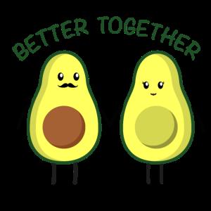 avocado pärchen