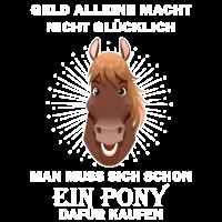 Geld Gluecklich Pony