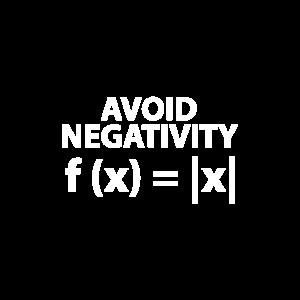 vermeiden Sie Negativität