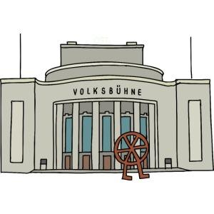 Volksbühne di Berlino c