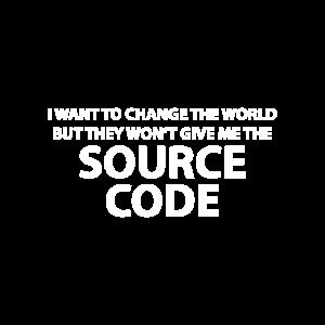 Ich will die Welt verändern