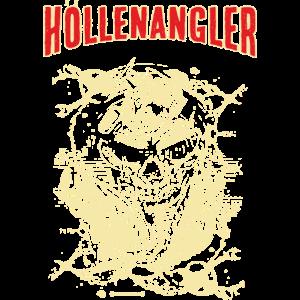 FID - der Höllenangler - unser coolstes SKULL ANGEL FISCHER MOTIV