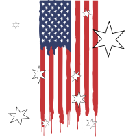 Flagge Amerika Patriot Geschenk