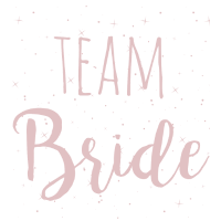 Team Bride rosa