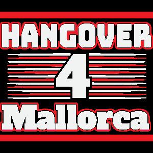 Hangover Mallorca Party Partyurlaub JGA T-Shirt