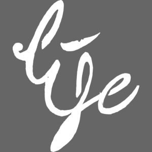 Life Logo simple white