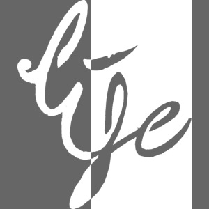Life Logo 02 white