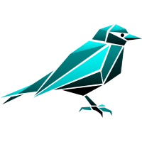 Spatz Vogel Origami Polygon