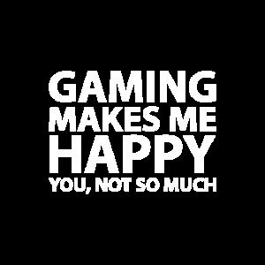 Gaming macht mich glücklich