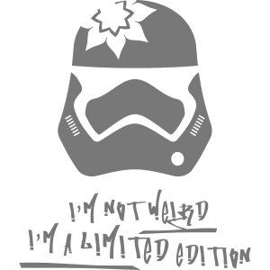 Im not Weird   Cool   Star   Wars   Design   Crazy